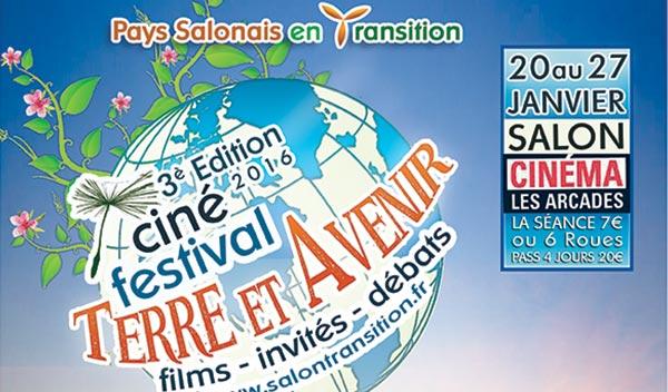 Salon cin festival terre avenir 2018 du 24 au 31 - Cinema les arcades salon de provence tarif ...